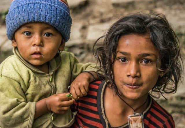 Gandruk-Children-Nepal