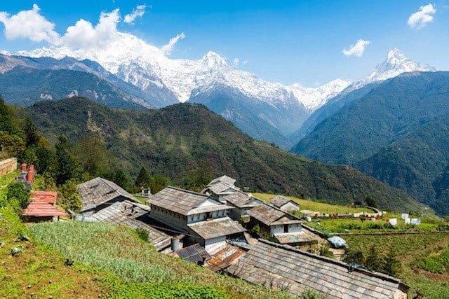 Ghandruk-Annapurna-Nepal-Village
