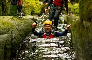 Trying gorge walking