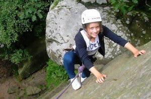 Climbing-Ravenswick-Quarry
