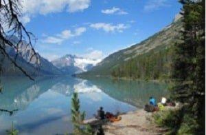 Glacier-Lake-Banff-Canada