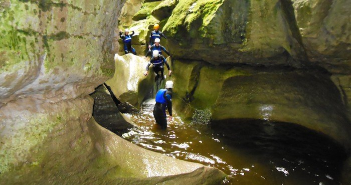 Canyoneering in the UK