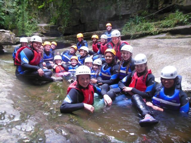 Gorge Walking North Yorkshire