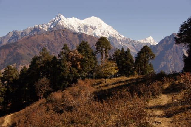 Great view of Langtang Lirung