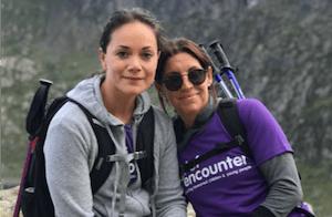 Grief Encounter charity raises money by climbing Snowdon