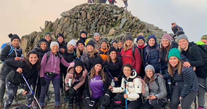 Fun fundraising ideas hiking Snowdon at night