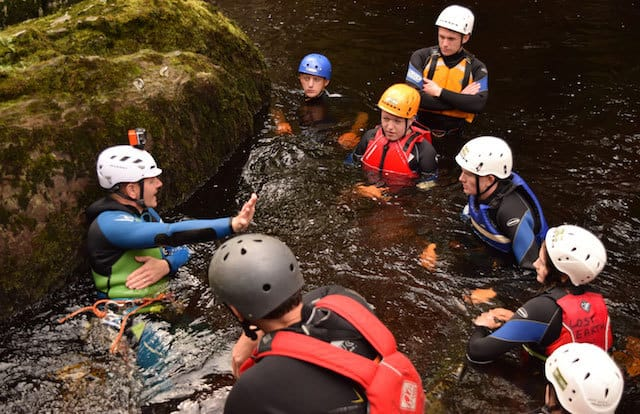 Group-Canyoning-Ingleton-Yorkshire-Dales