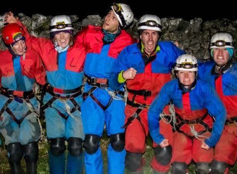Group-Cavers-Ingleton-Yorkshire-Dales