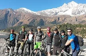 Mountain Bike Group Nepal
