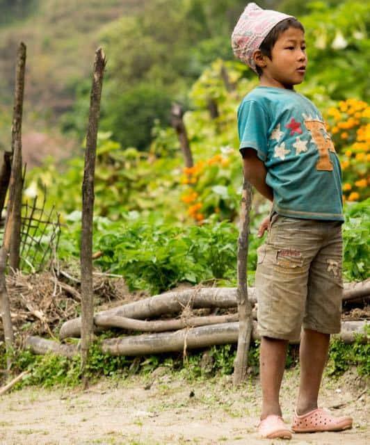 Gurung-Child-Gandruk