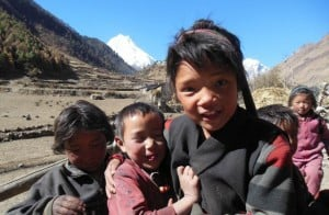Gurung-Children-Manaslu