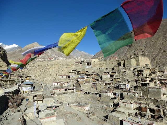 Gurung Houses Nepal