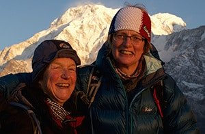Happy Ladies Trekking in Nepal