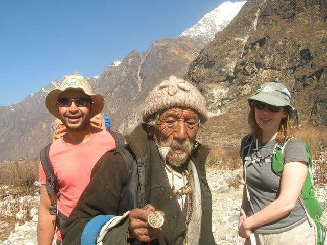 Happy man of the Himalaya