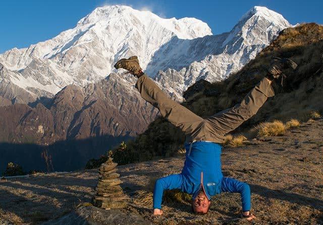 Head-Stand-Annapurna-South