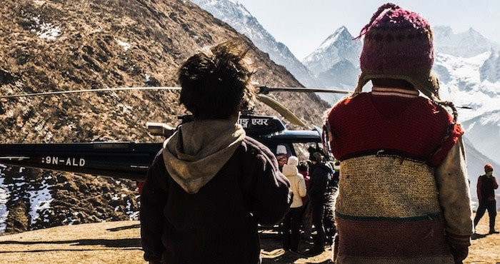 Helicopter-Nepal