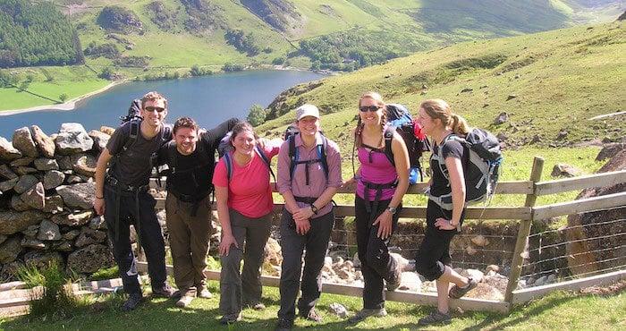 Hiking Day Lake District