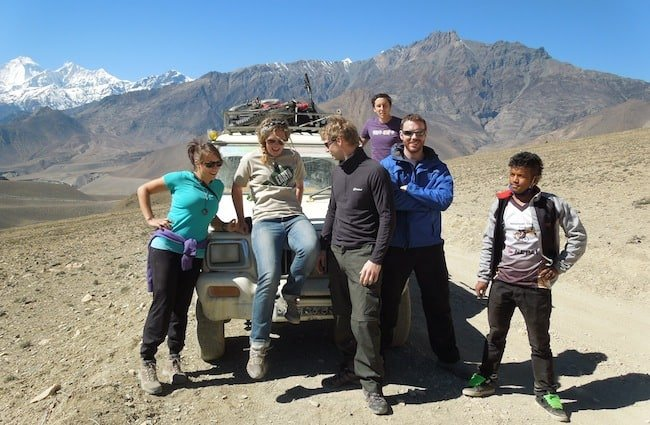 Jeep to Muktinath - Annapurna Region