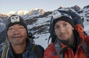 Julien and Tshering Makalu Trek