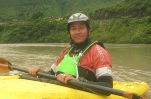 Nepal raft guide