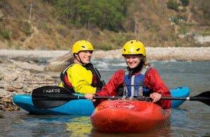 Kayaking Nepal