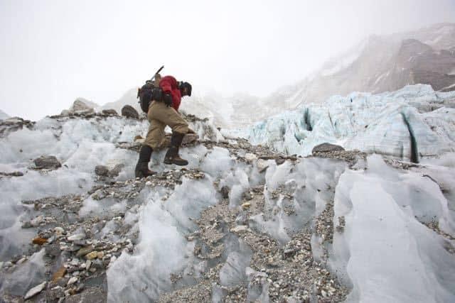 Solo traveller on Everest Base Camp trek