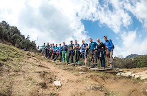 Kilimanjaro trekking group