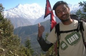 Trekking in the Langtang