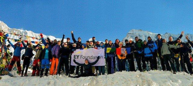 Large-Charity-Trekking-Group-Nepal