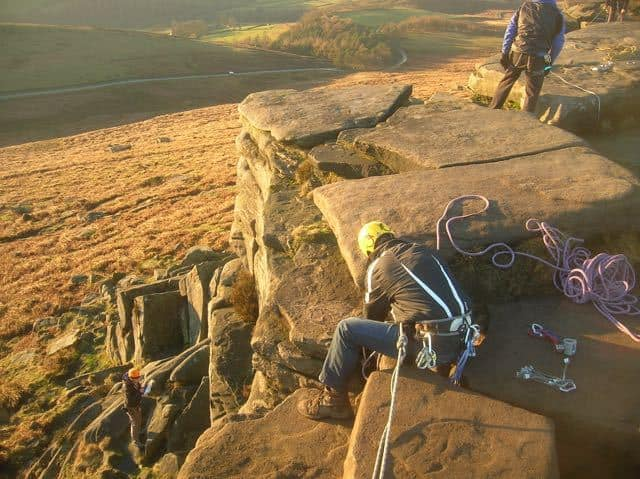 Lead-Climbing-Course-Anchors-Rigging-Peak-District-Stanage