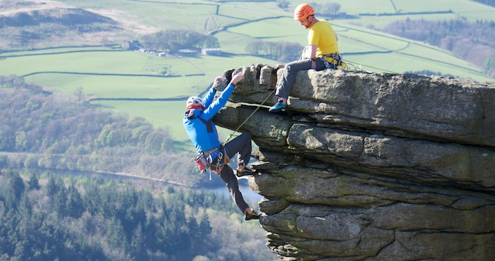 Rock-climbing-course