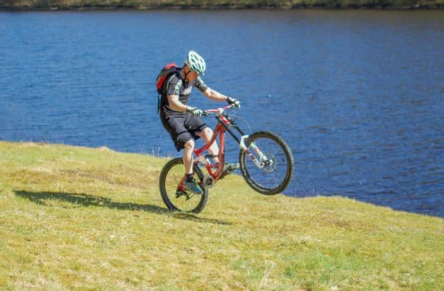 Learning-to-Wheelie-Mountain-Bike