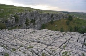 Limestone-pavement-above-Malham-Cove