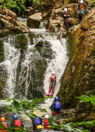 Longest-Canyoning-Slide-Yorkshire
