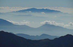 View from Laurebina Pass