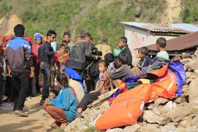 Nepal Earthquake Victims