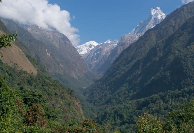 Machhapuchchhre-from-Himalaya-ABC-Trek