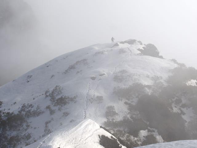 Man-Trekking-Makalu-Peak-Snow-Clouds