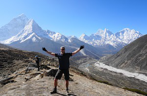 Everest Base Camp trekker enjoys views after training plan works