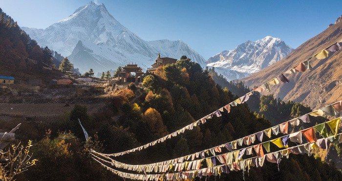 Manaslu Circuit Trek Tea House Trekking Nepal