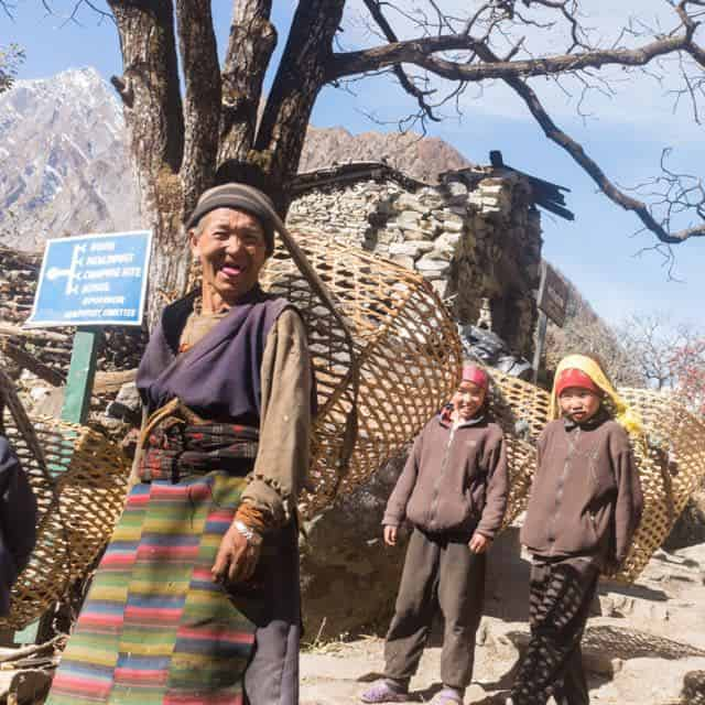 Manaslu Mountain People