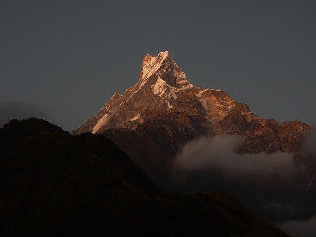 Mardi-Himal-Sunset