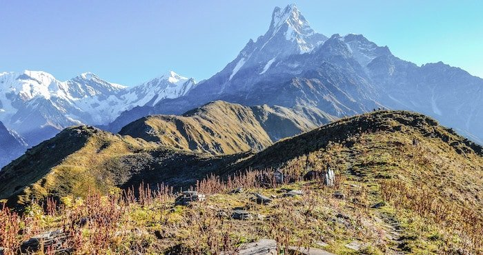 Macchapuchare from Mardi Himal