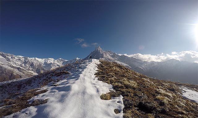Mardi-Himal-Ridge