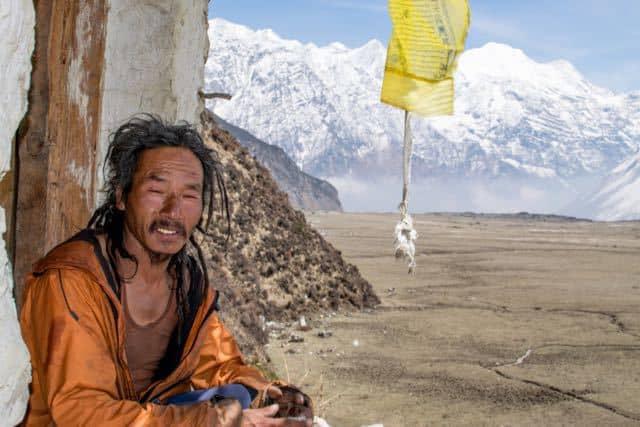 Monk-Pungyen-Gompa