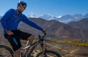 Mountain Biker Upper Mustang