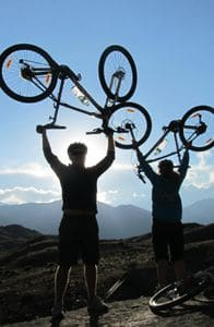 mountain bike courses