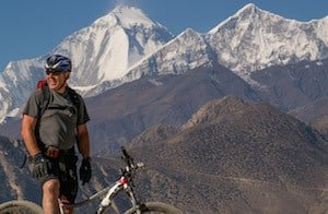 Mountain biking the Annapurna Circuit