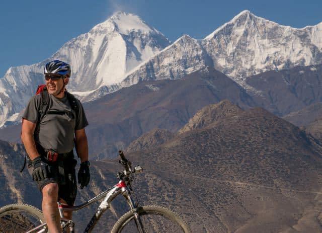 Mountain-Biker-Nepal-Dhaulagiri