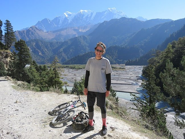 Mountain-Biker-Smiling-Nepal